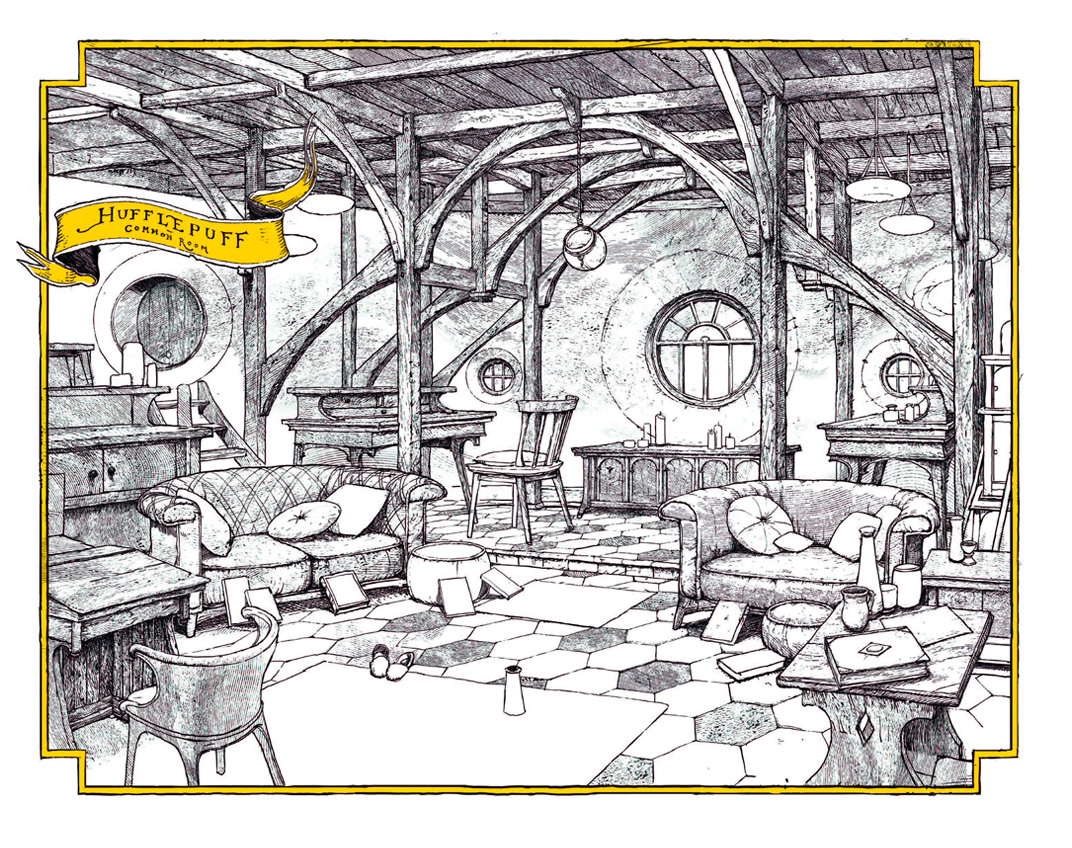 Hufflepuff common room (house editions)