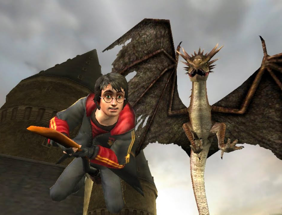 Hungarian Horntail (Goblet of Fire video game)