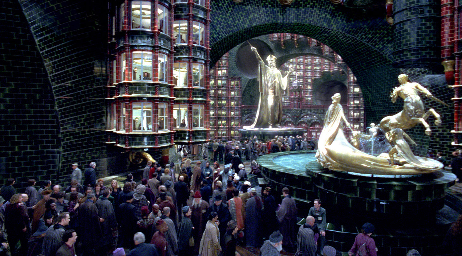 In the Ministry of Magic