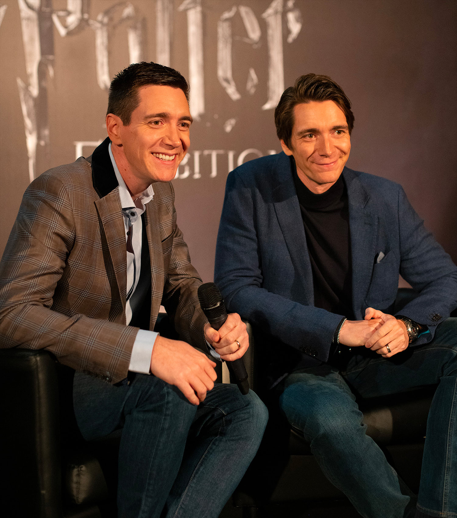 James and Oliver Phelps launch 'Harry Potter: The Exhibition' in Lisbon