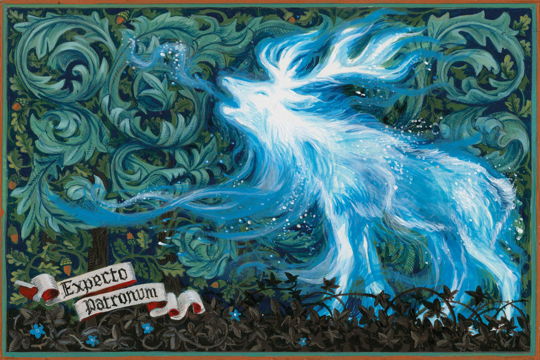 Patronus on a Postcard