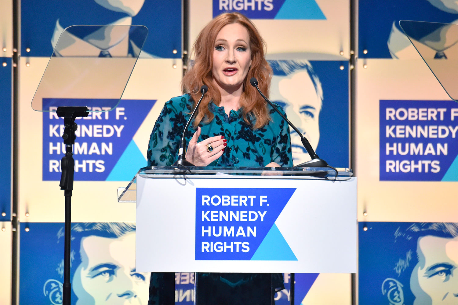J.K. Rowling wins Ripple of Hope award