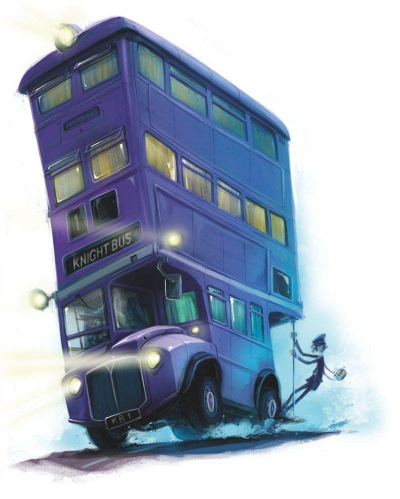 Knight Bus (Jonny Duddle illustration)