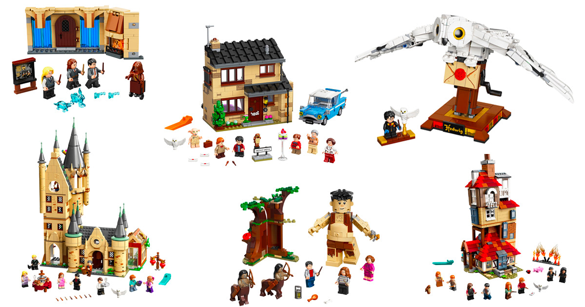 LEGO will release new sets featuring scenes from 'Order of the Phoenix' and 'Half-Blood Prince'.