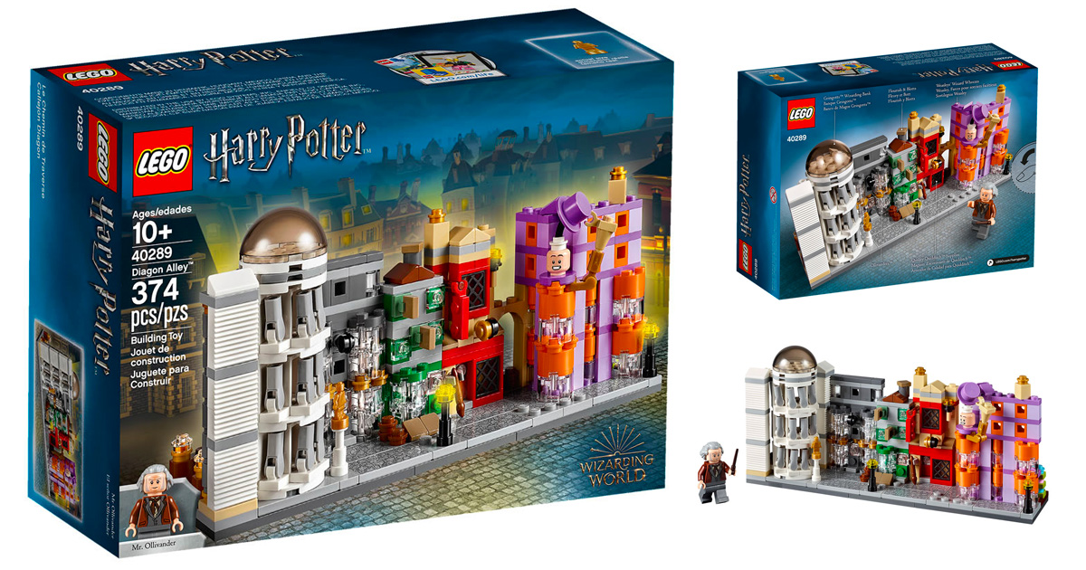 LEGO to release new microscale 'Harry Potter' themed Diagon Alley set (40289)