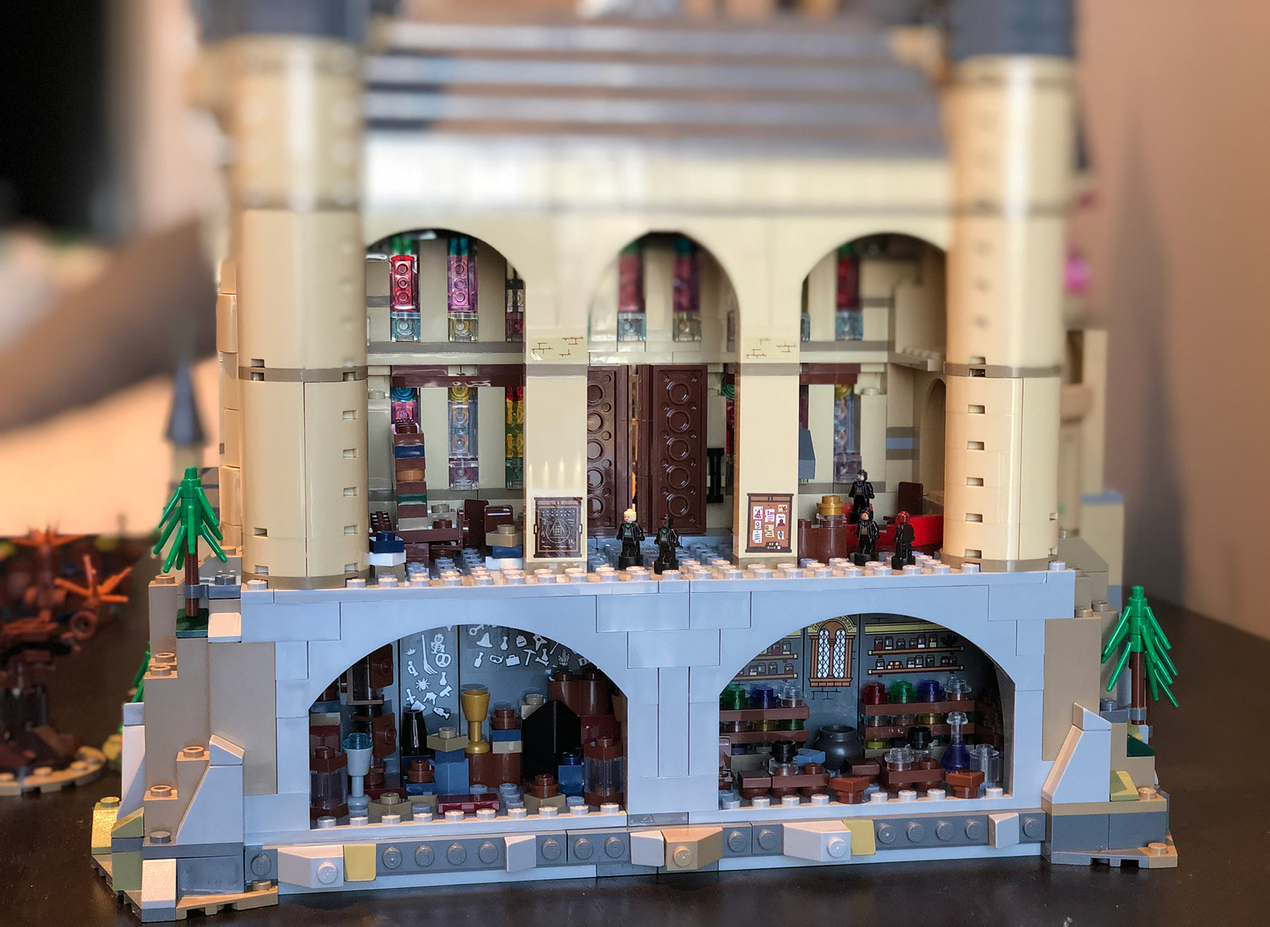 LEGO Hogwarts Castle (71043) common rooms and dungeons