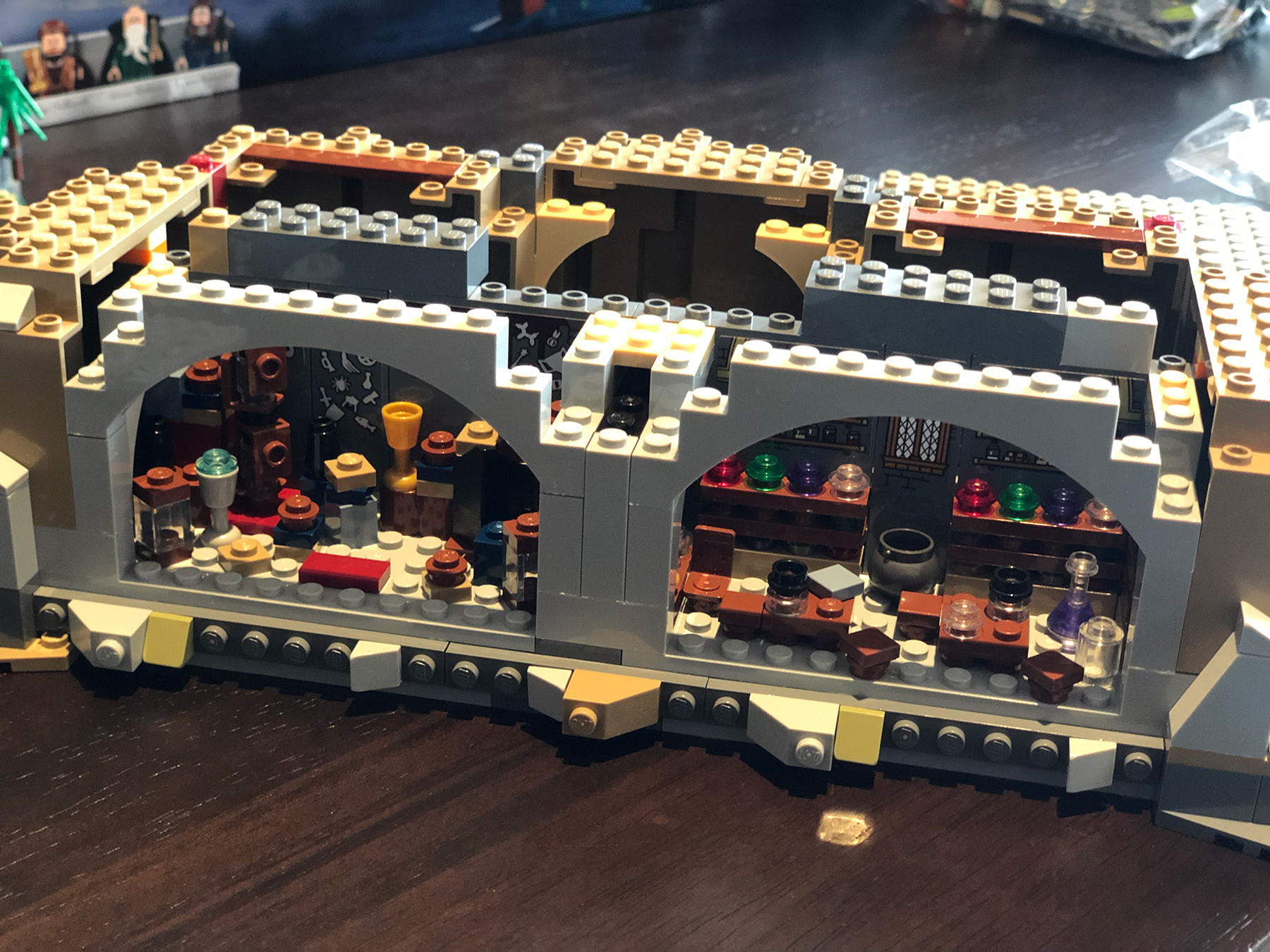 LEGO Hogwarts Castle (71043) Room of Requirement and dungeons