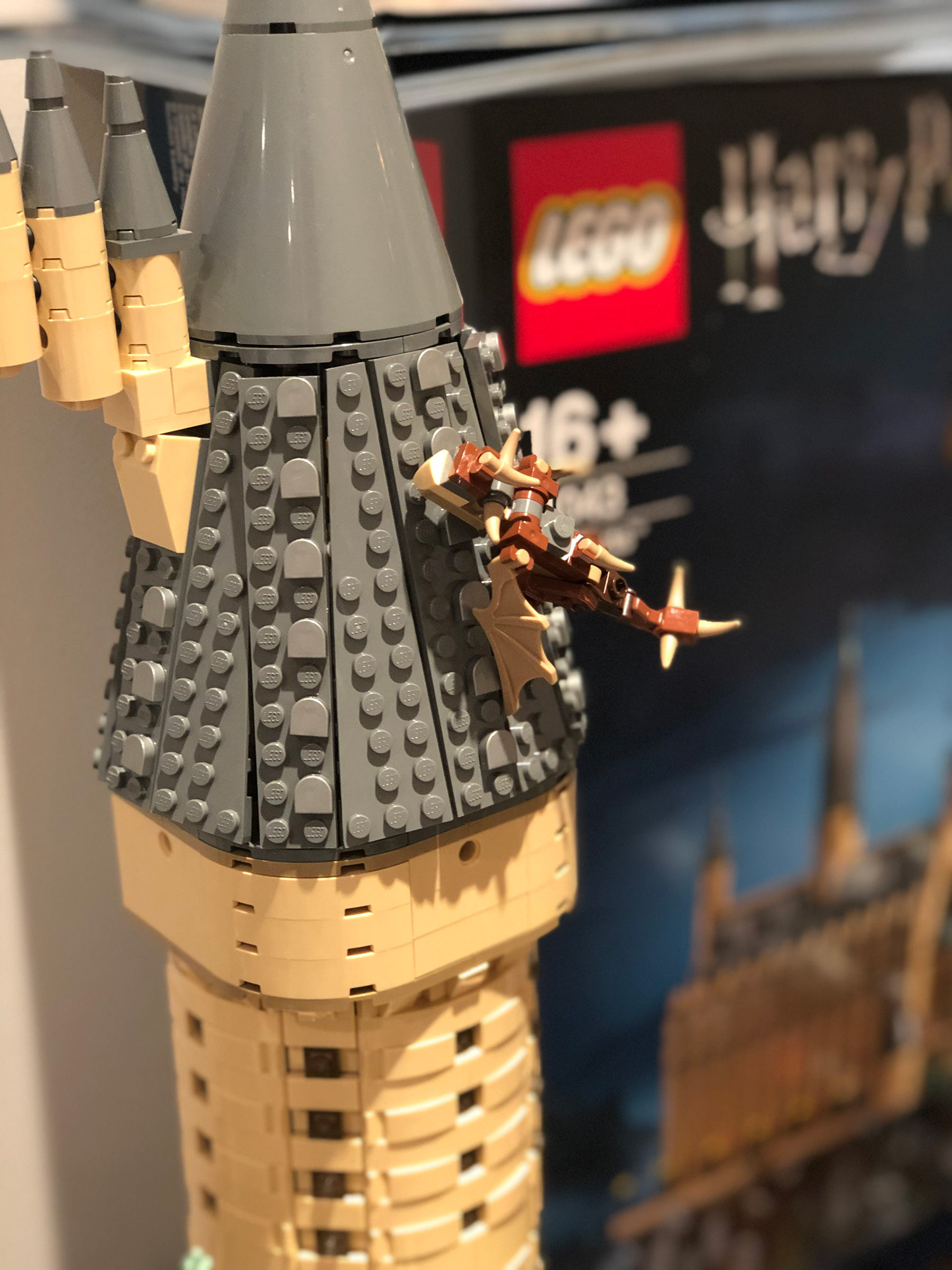 LEGO Hogwarts Castle (71043) Hungarian Horntail