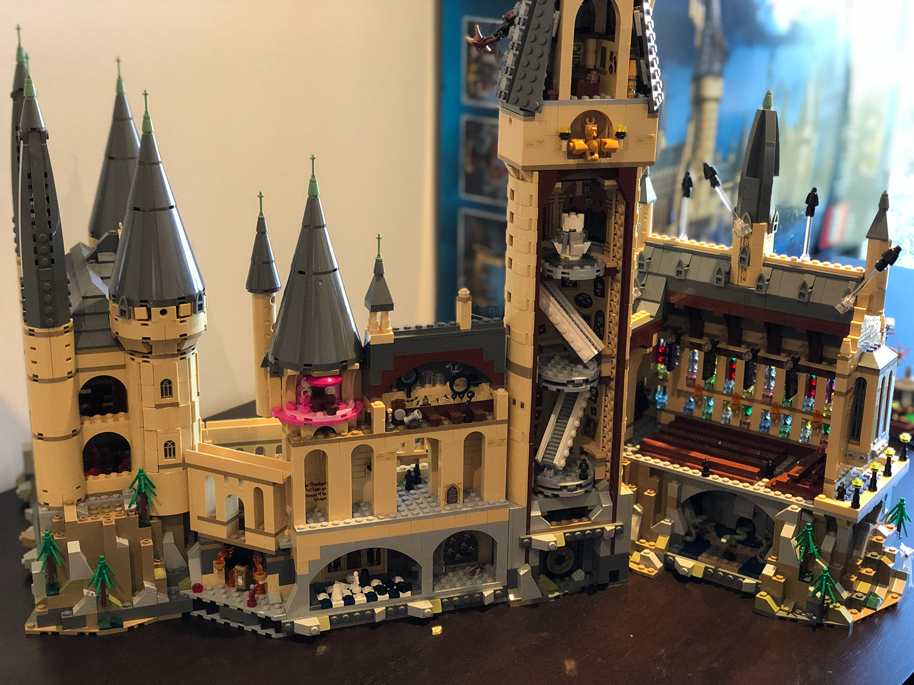 Hogwarts Castle (71043) interiors
