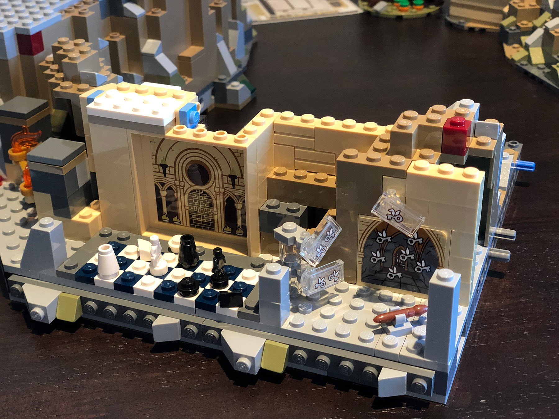 LEGO Hogwarts Castle (71043) Philosopher's Stone rooms