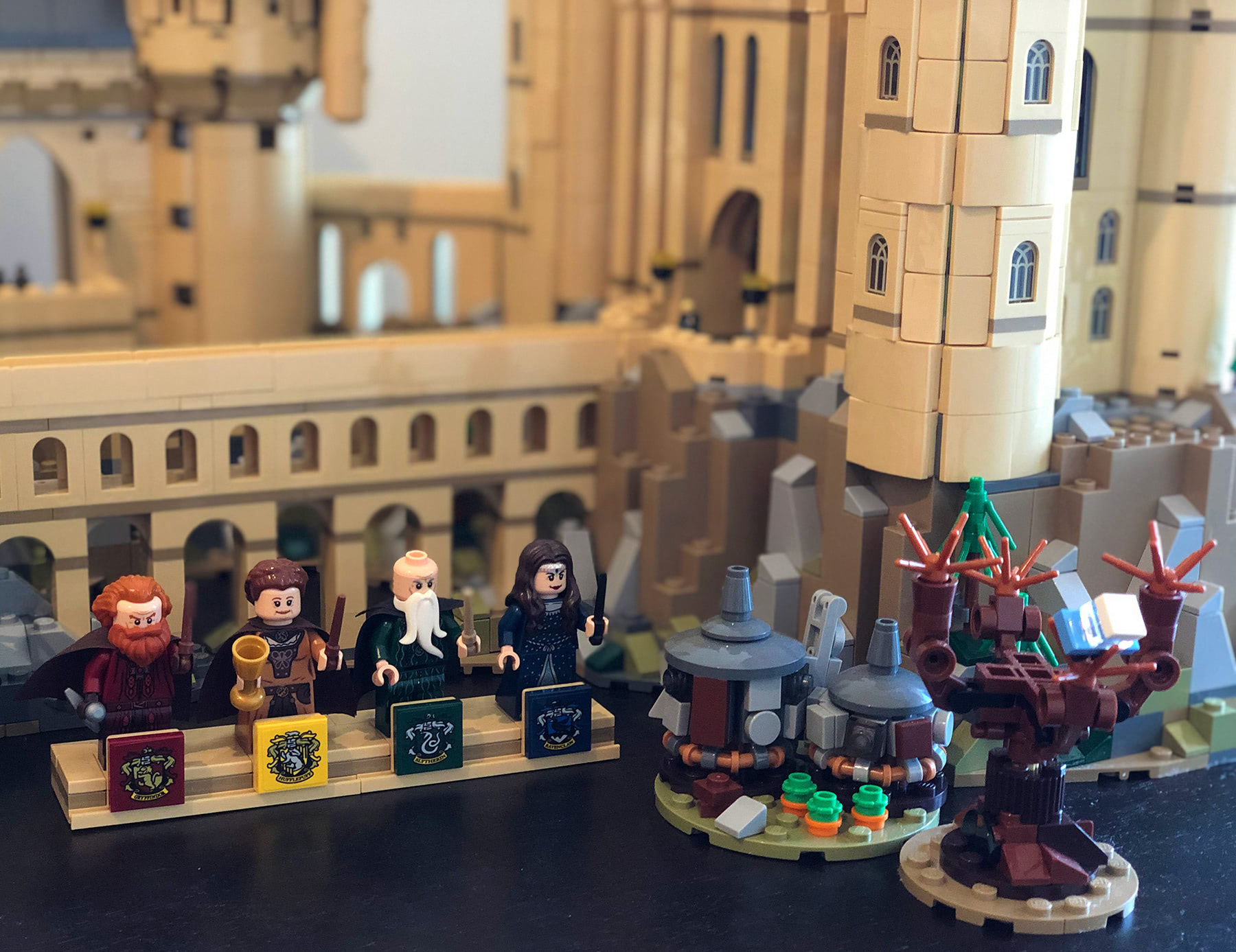 LEGO Hogwarts Castle (71043) side builds
