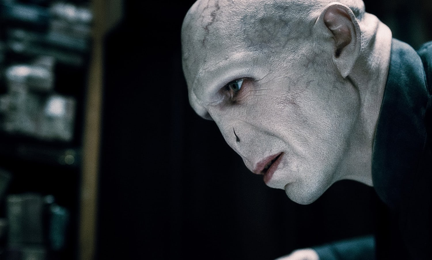 Lord Voldemort stares