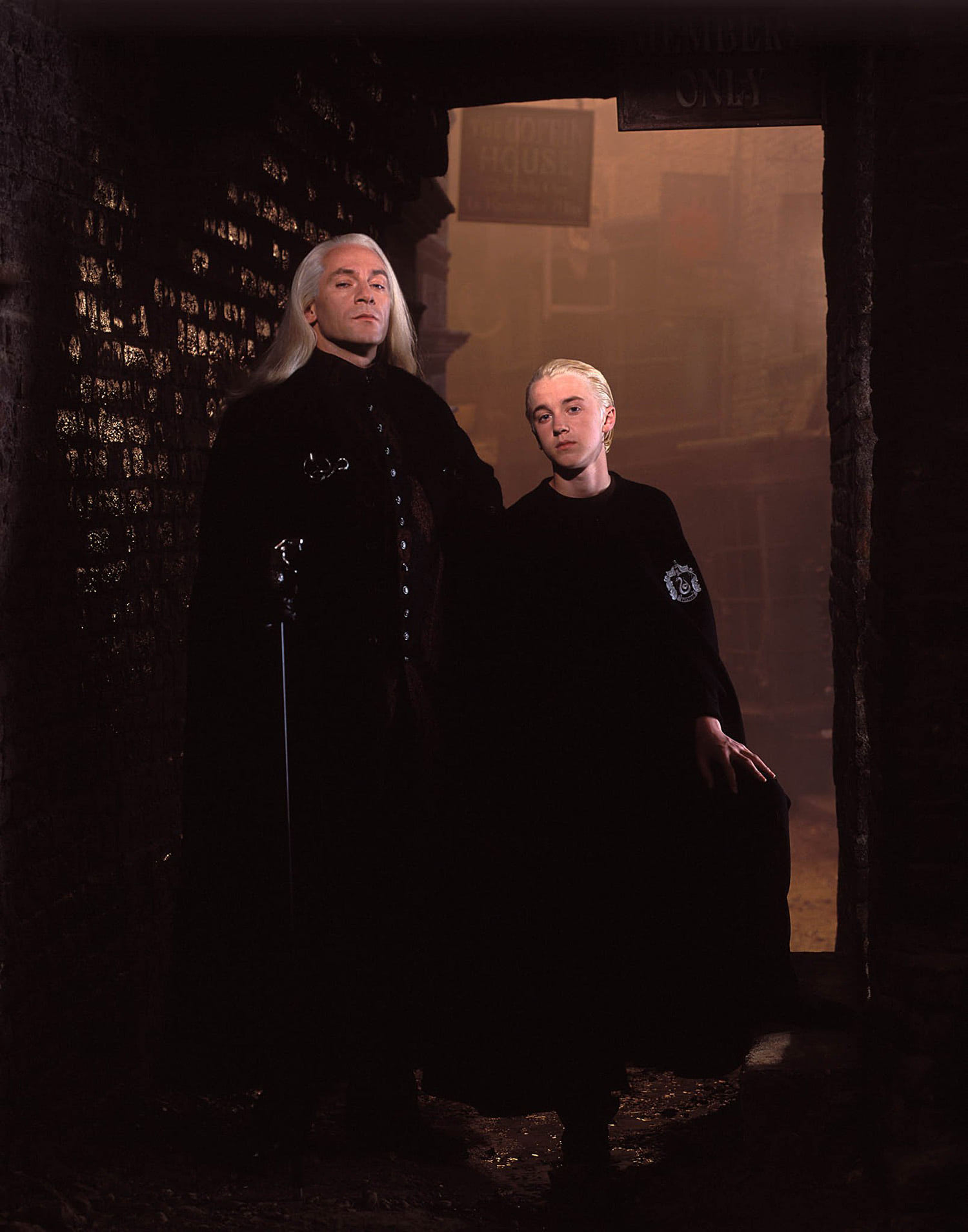 Lucius and Draco Malfoy