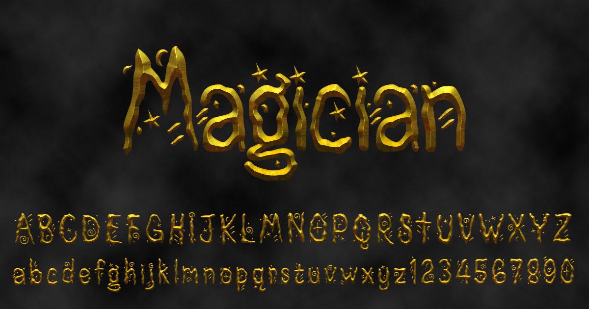 'Magician' font