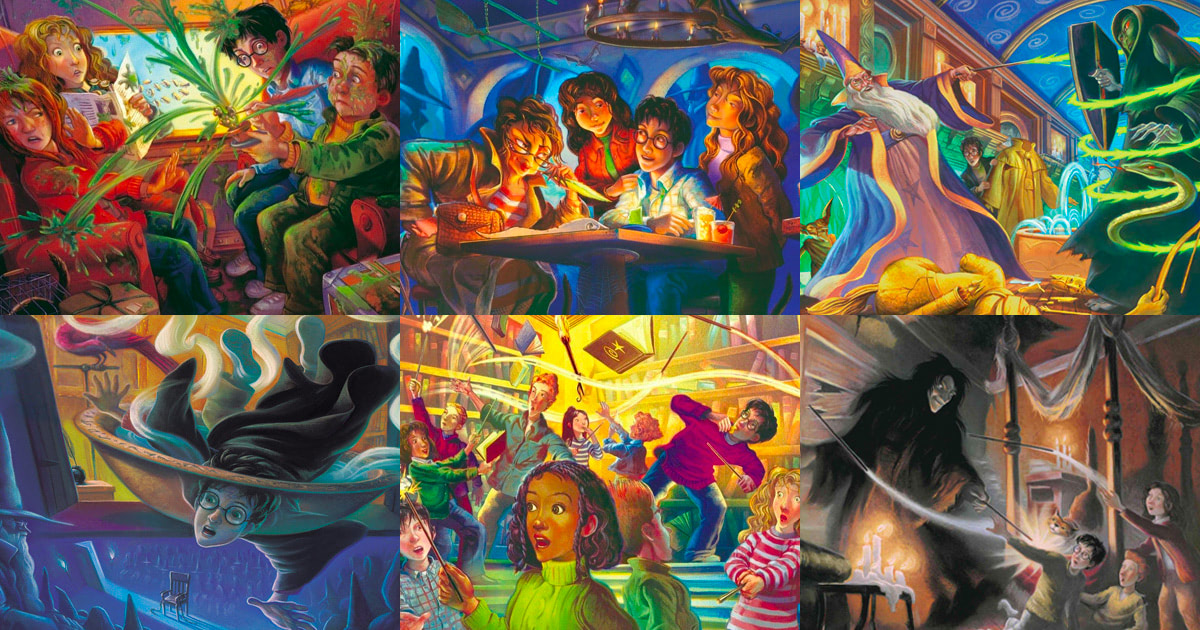 Mary GrandPré's 'Harry Potter' artwork