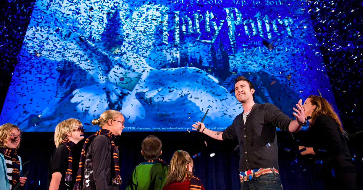 'Harry Potter' exhibition to open in Seattle, Matthew Lewis attends