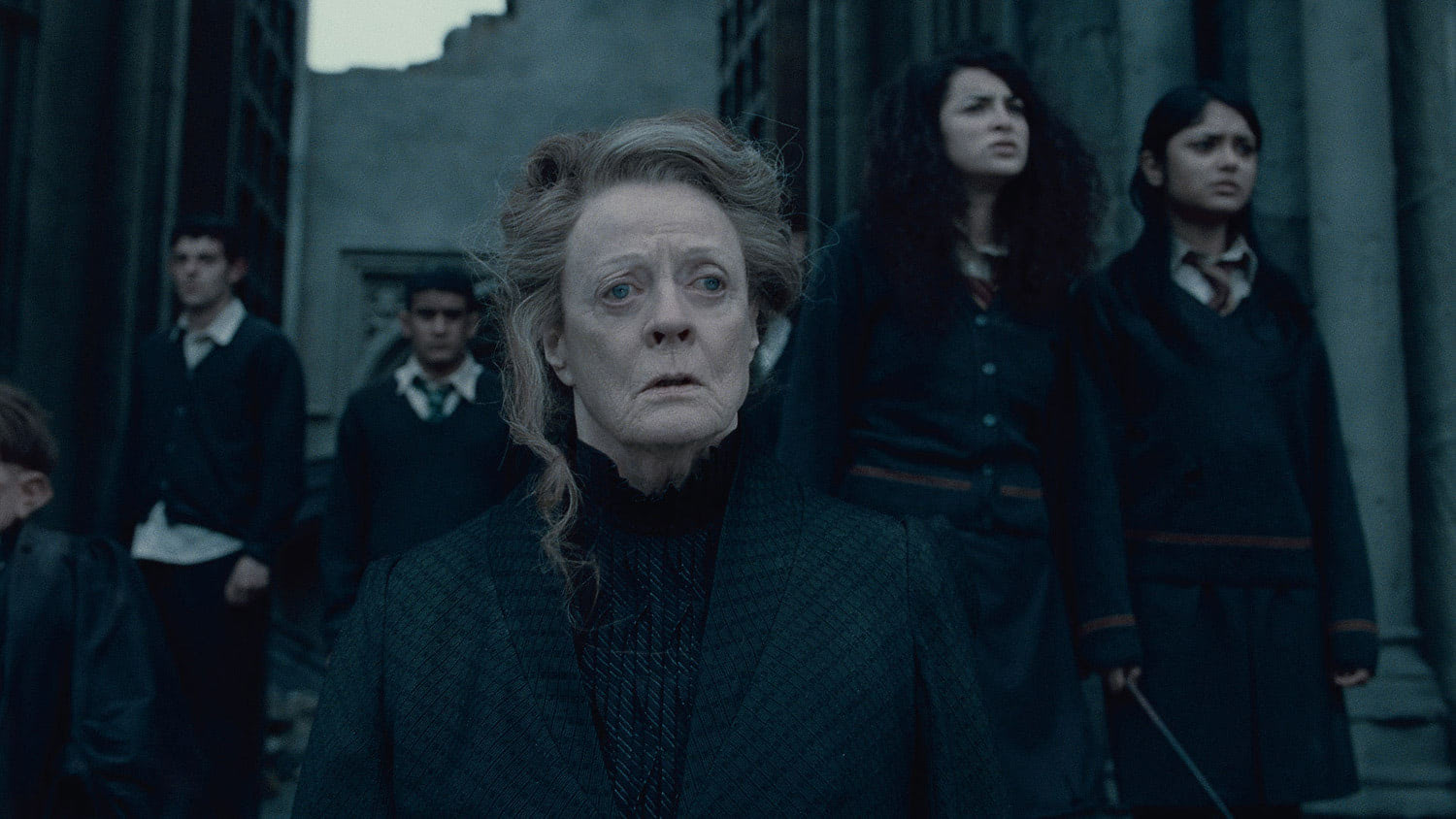 McGonagall looks worried