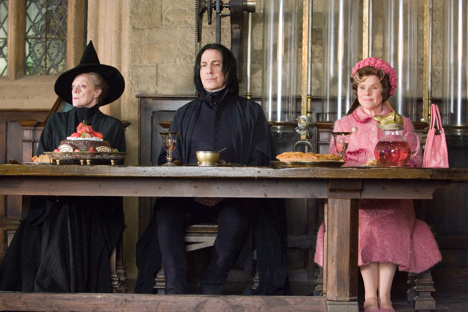 McGonagall, Snape and Umbridge