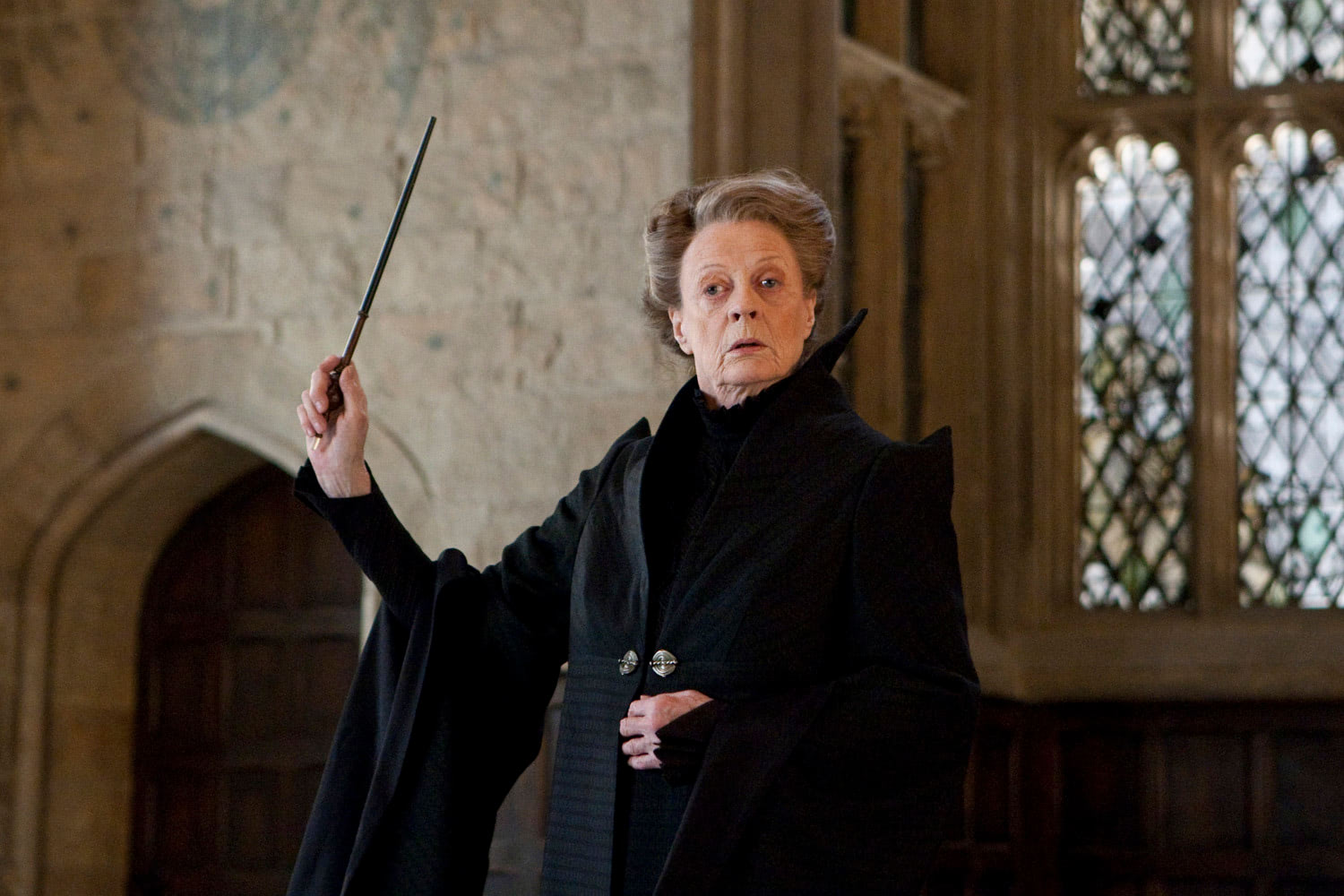 McGonagall waves her wand
