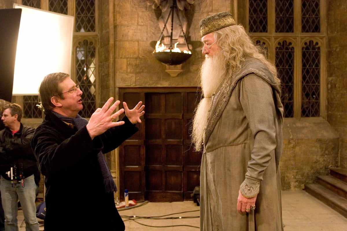 Mike Newell and Michael Gambon