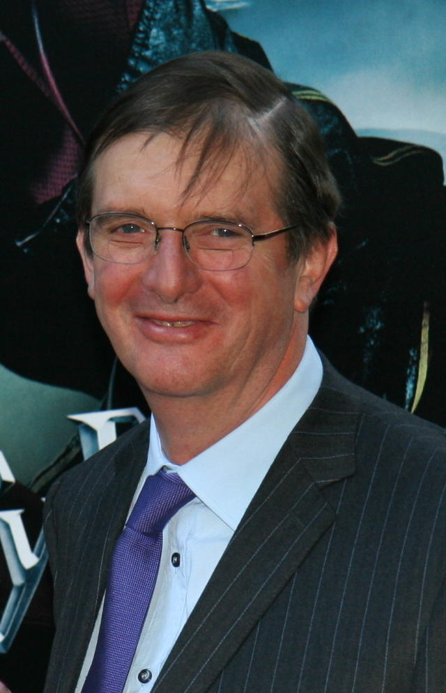 Director Mike Newell at the New York City 'Goblet of Fire' premiere