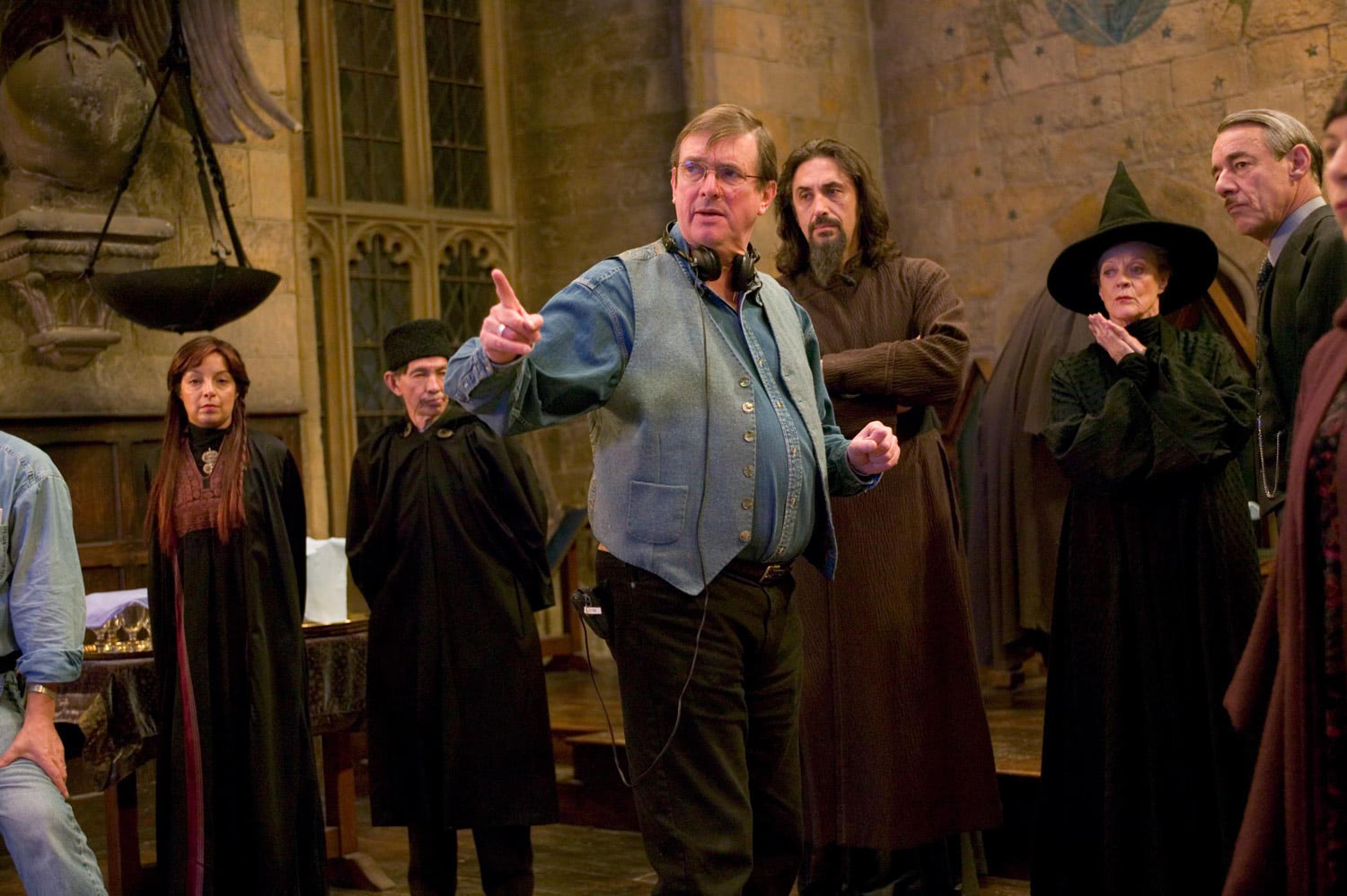 Mike Newell in the Great Hall