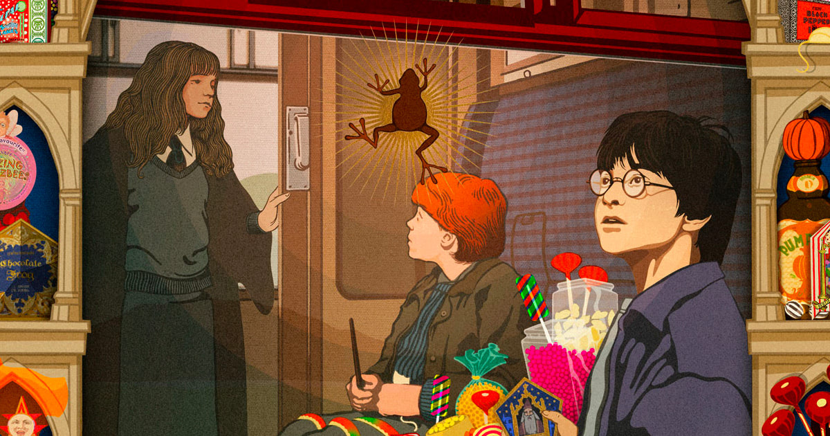 MinaLima reveal third 'Harry Potter' movie graphic art print