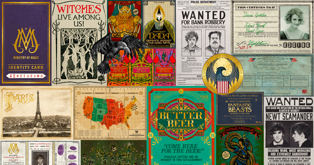 Meet MinaLima: the graphic design of the 'Fantastic Beasts' films
