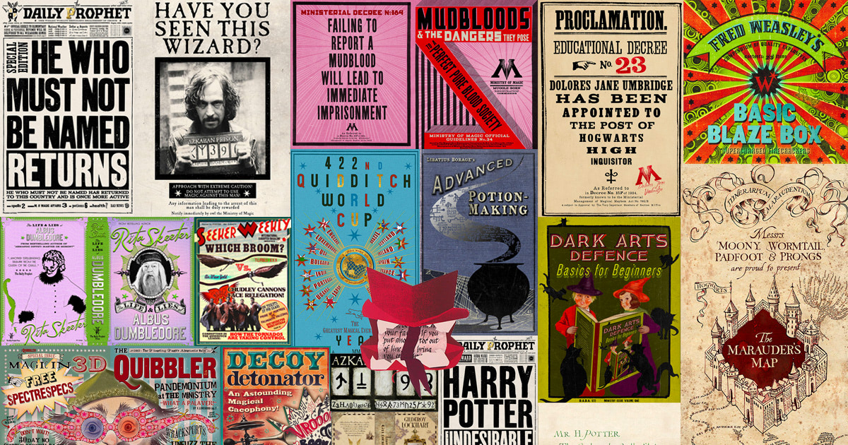 Meet MinaLima: the graphic design of the 'Harry Potter' films