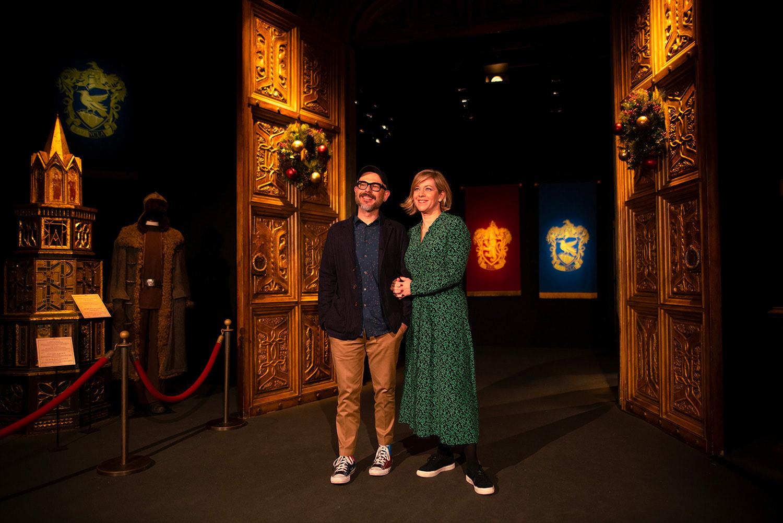 Eduardo Lima and Miraphora Mina launch 'Harry Potter: The Exhibition' in Lisbon
