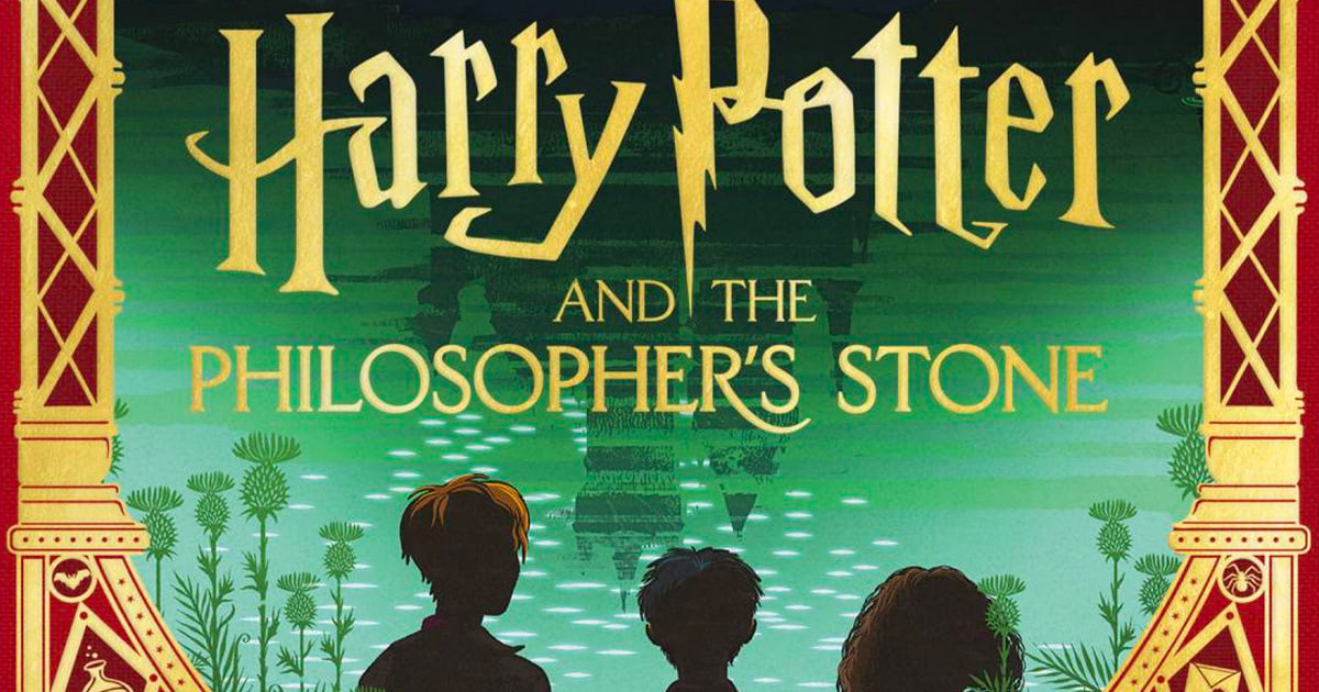 MinaLima to publish illustrated version of 'Philosopher's Stone'