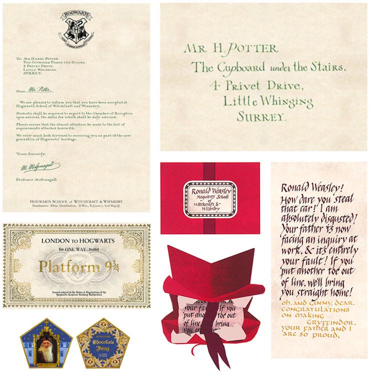 MinaLima 'Harry Potter' props