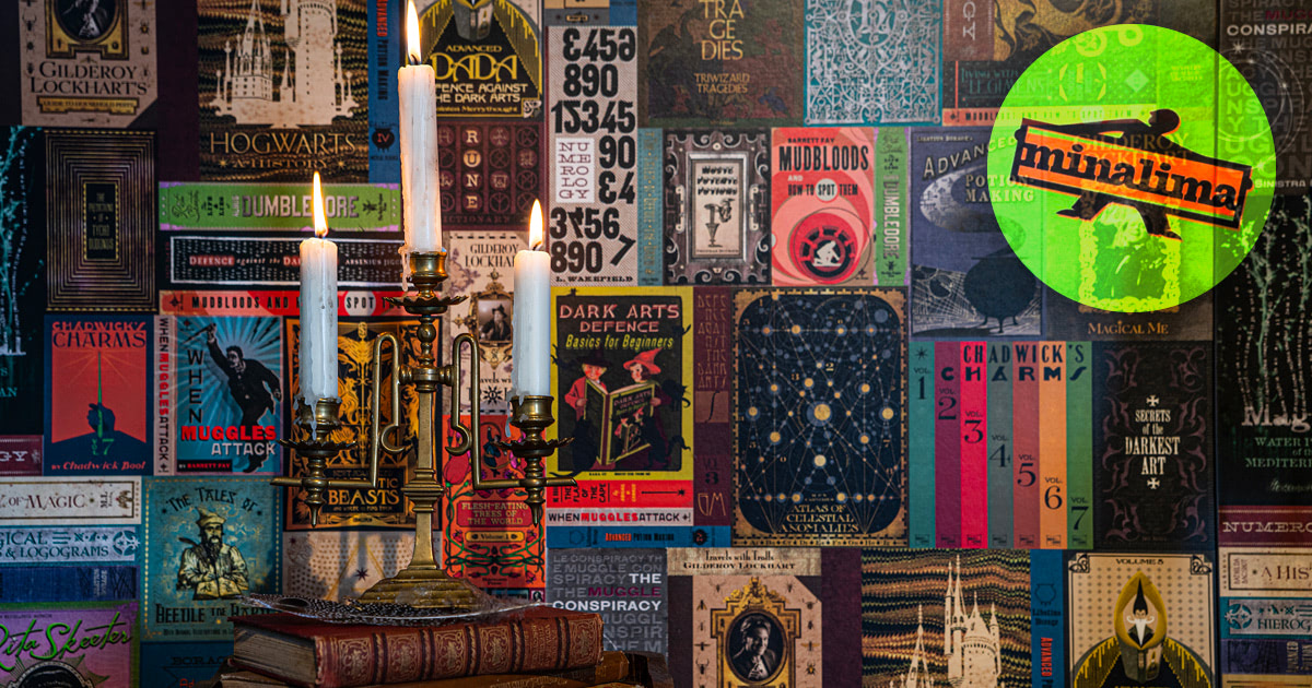 MinaLima unveil spectacular 'Harry Potter' wallpaper collection