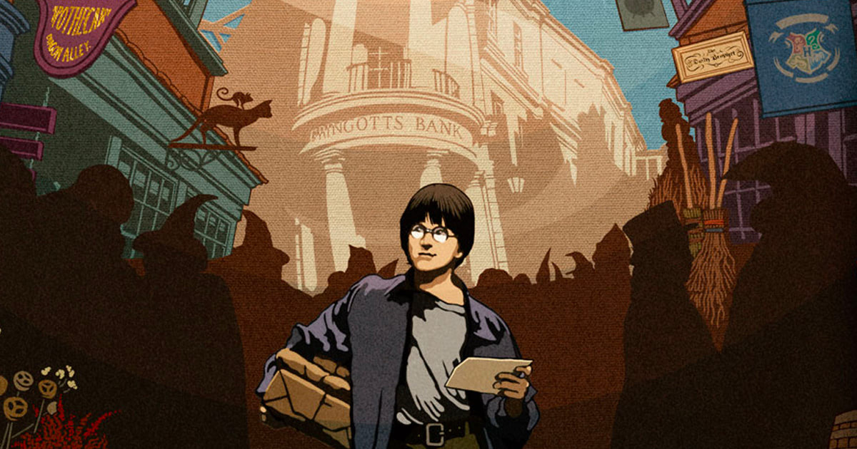 MinaLima reveal second 'Harry Potter' graphic art print