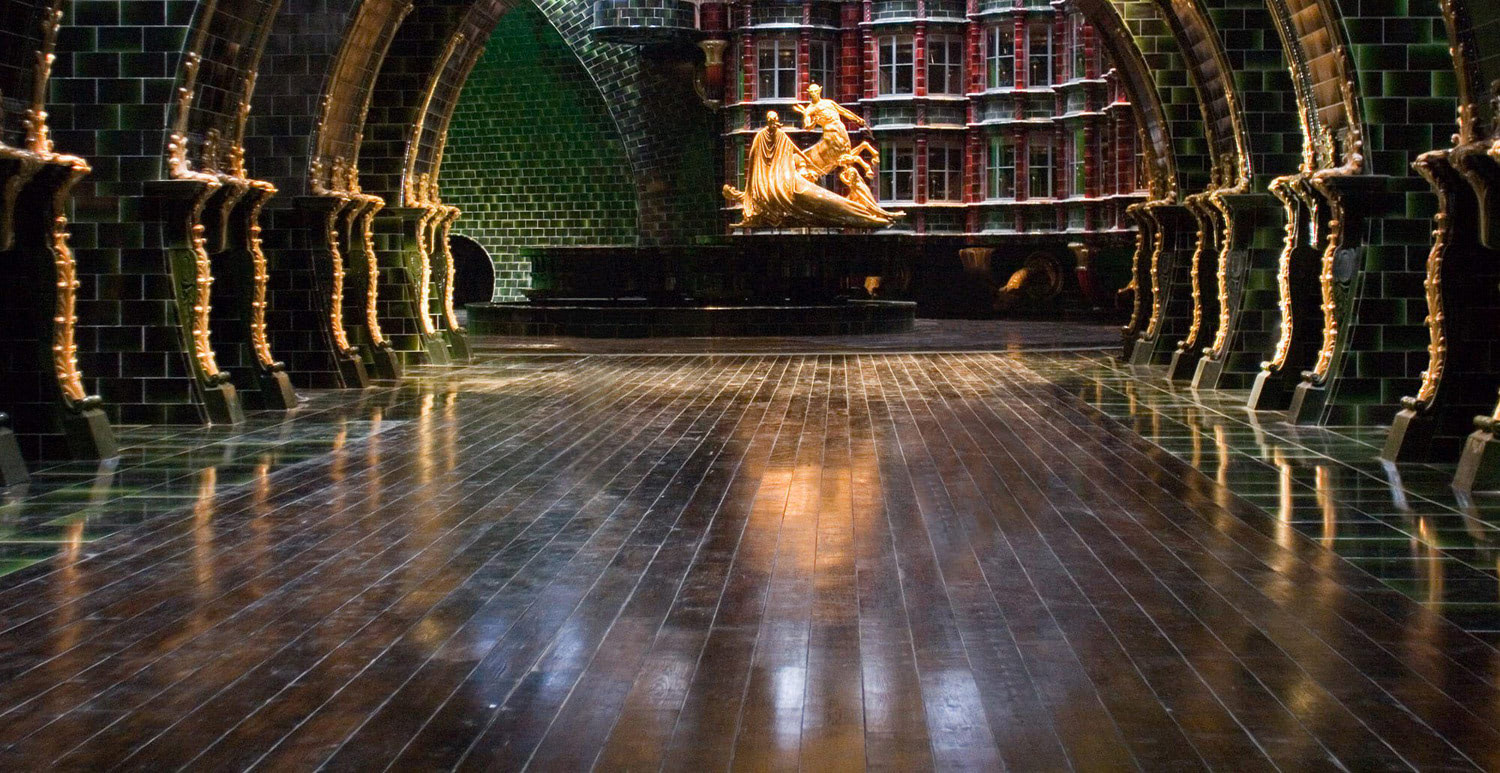 Ministry of Magic atrium