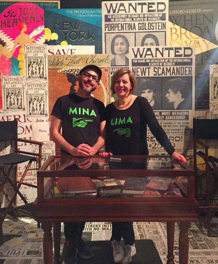 Miraphora Mina and Eduardo Lima
