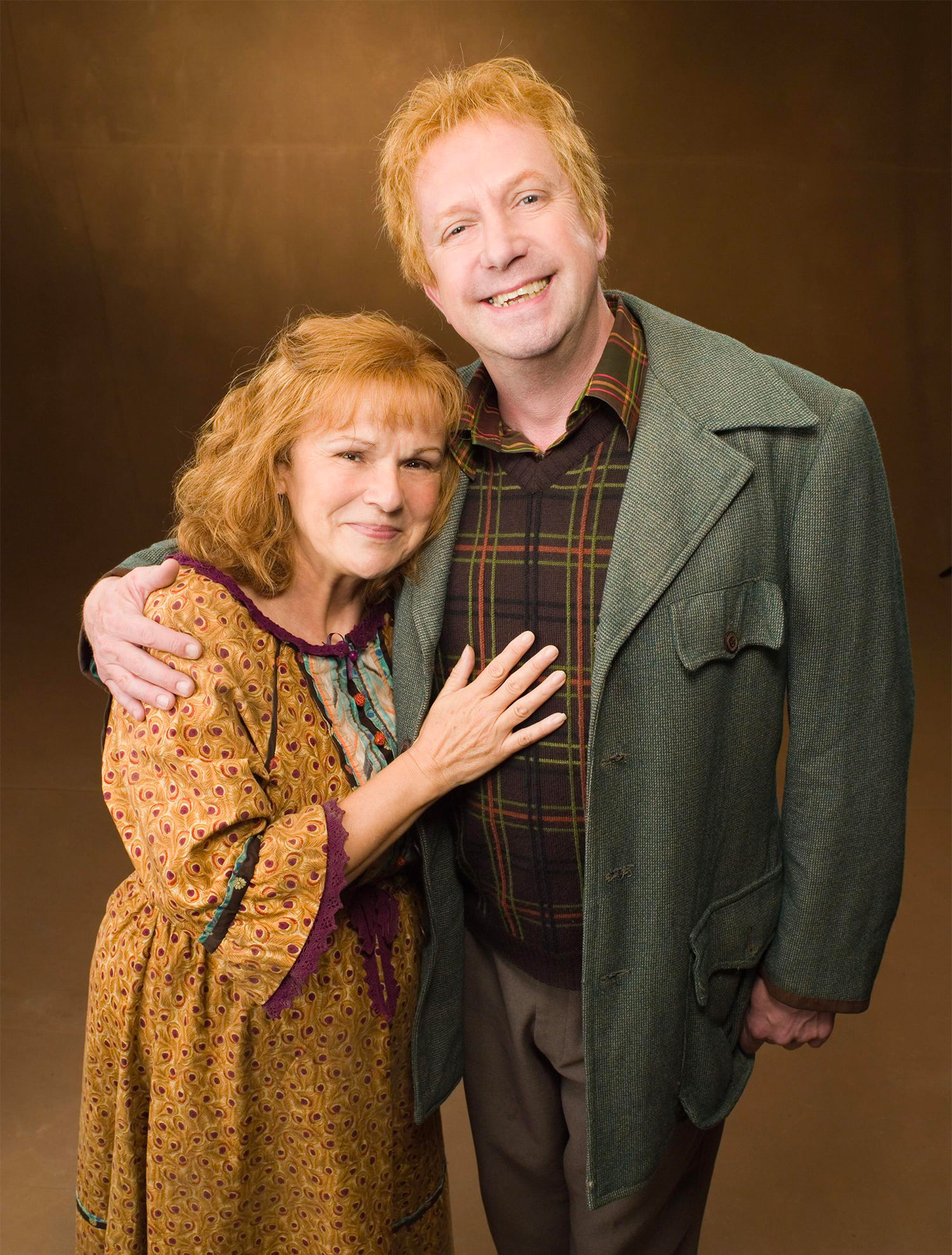 Portrait of Molly and Arthur Weasley