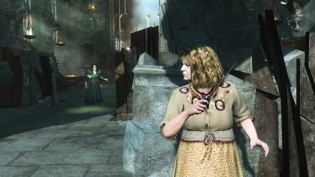 Molly Weasley fights Bellatrix Lestrange (Deathly Hallows: Part 2 video game)