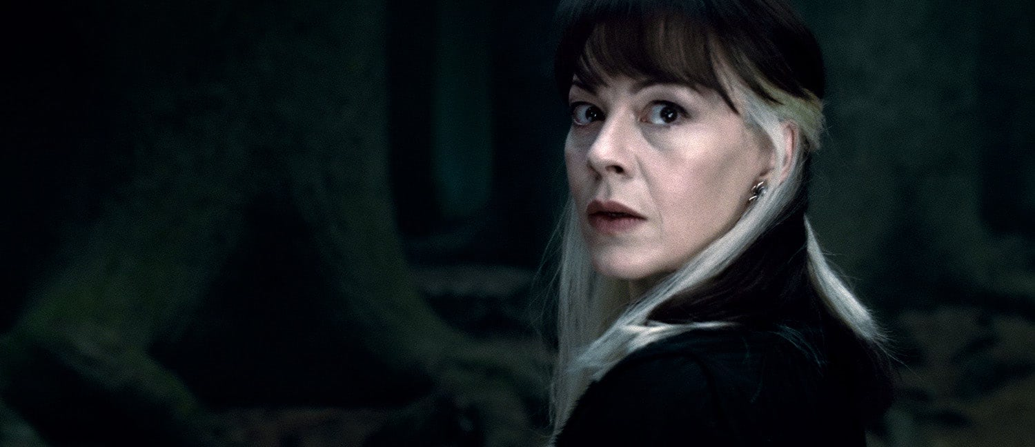 Narcissa Malfoy in the forest