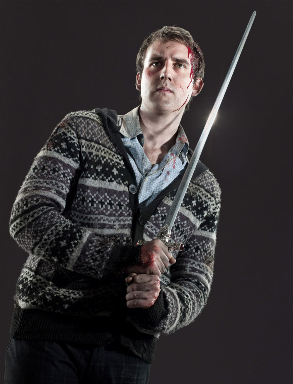 Neville Longbottom Sword of Gryffindor portrait