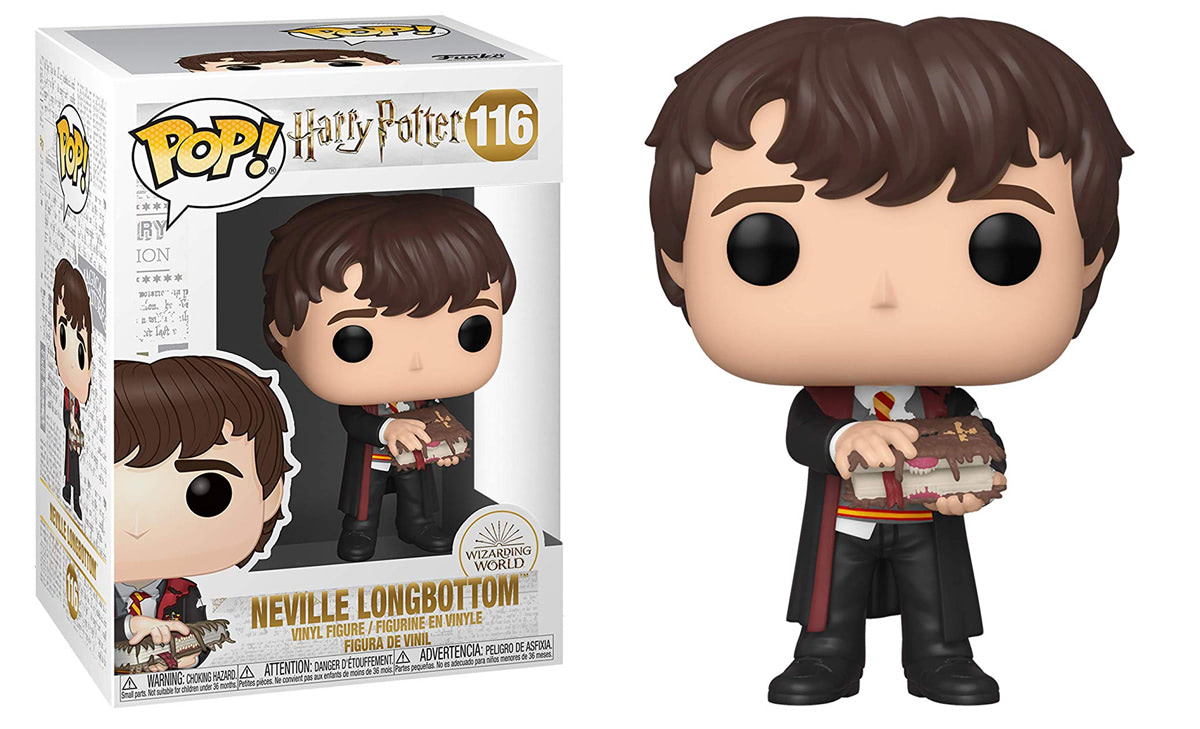 Neville Longbottom (With Monster Book) Pop! Vinyl