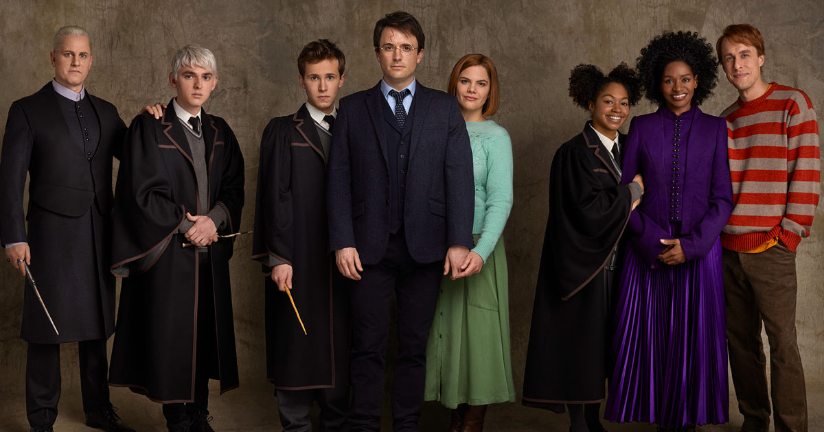 New 'Cursed Child' Broadway  cast portraits unveiled