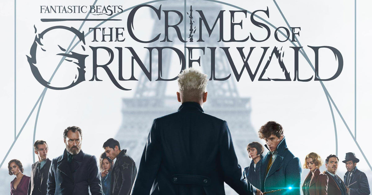 New 'Fantastic Beasts: The Crimes of Grindelwald' poster
