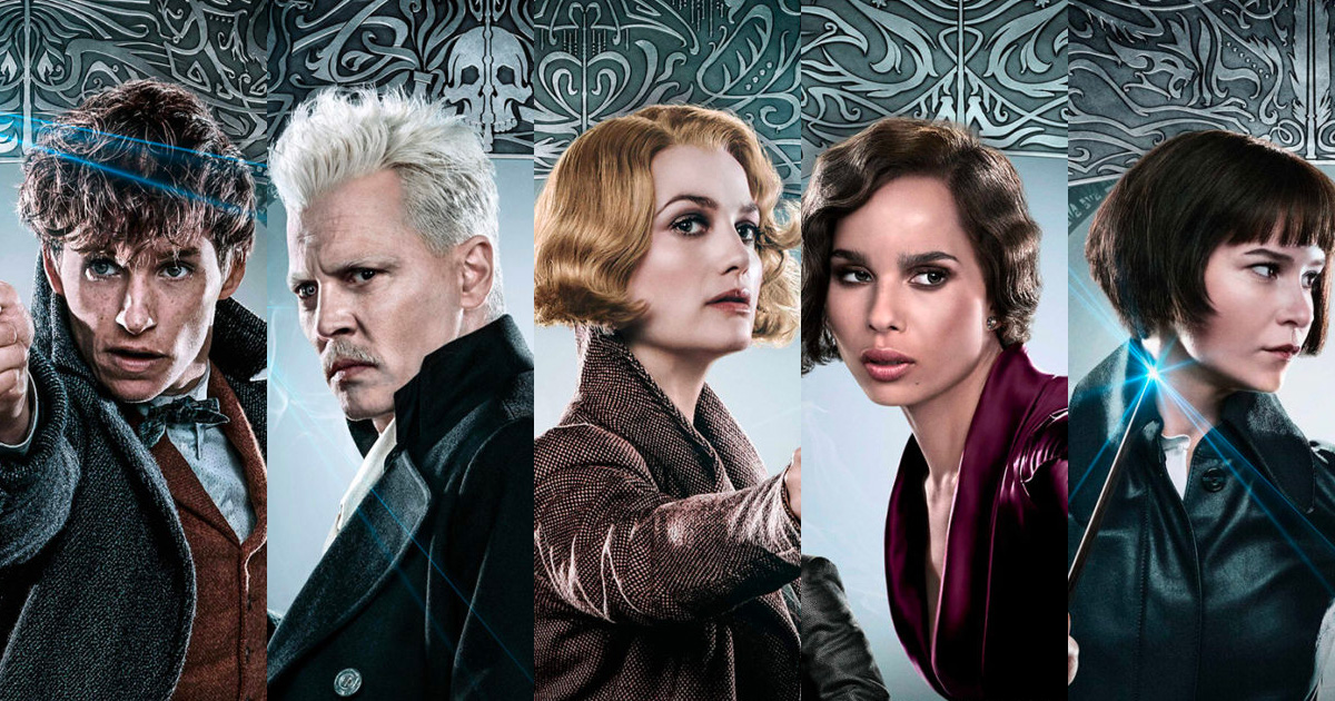 Five brand new 'Fantastic Beasts: The Crimes of Grindelwald' character posters