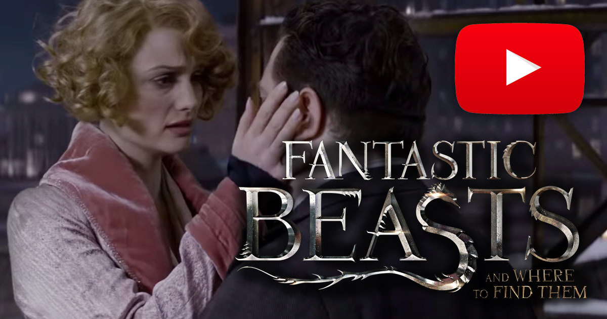 New 'Fantastic Beasts and Where to Find Them' trailer released today