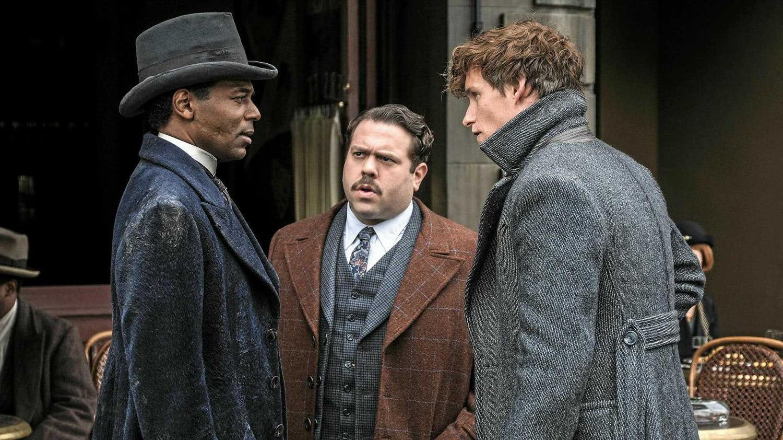 Newt and Jacob meet Yusuf Kama