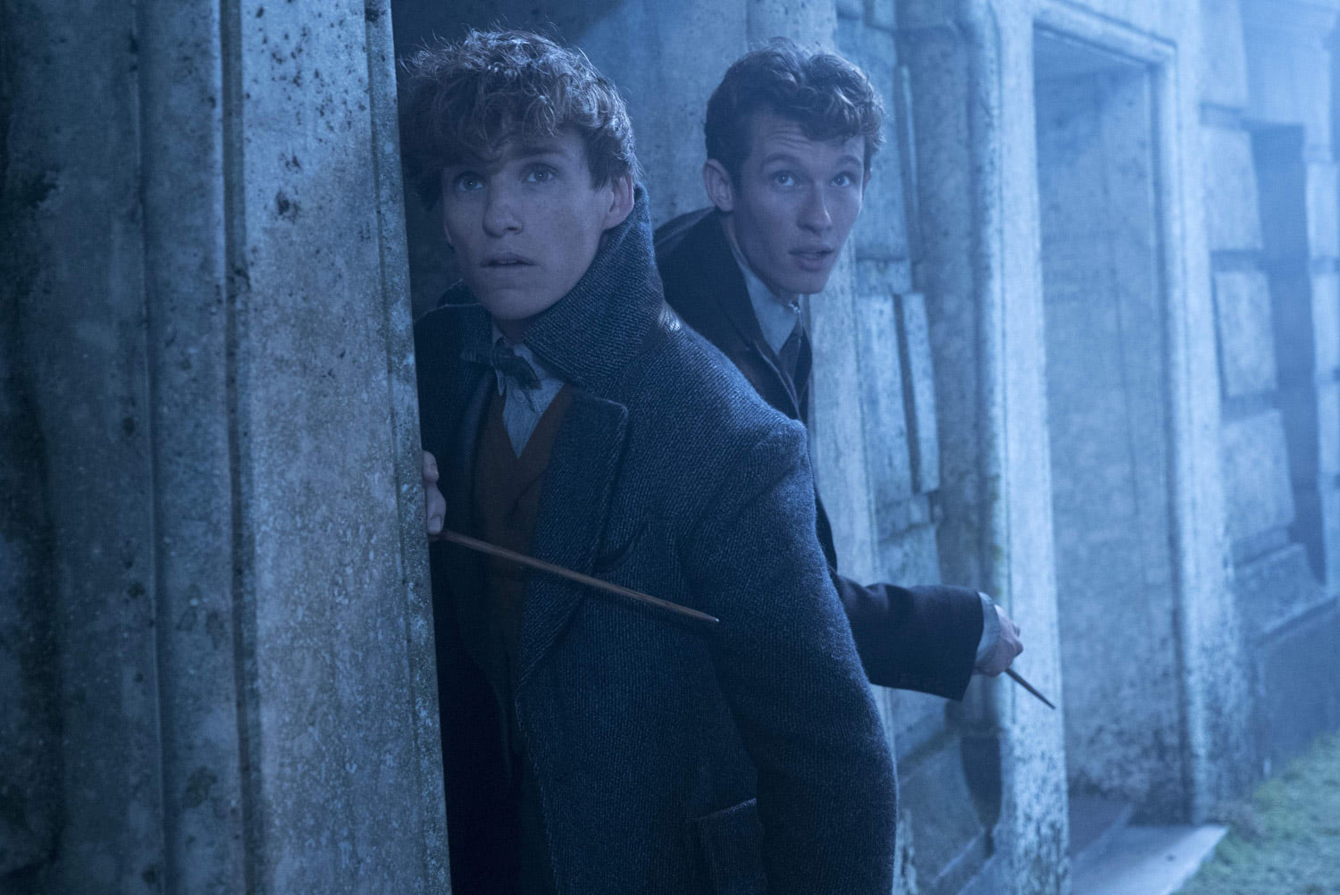 Newt and Theseus Scamander