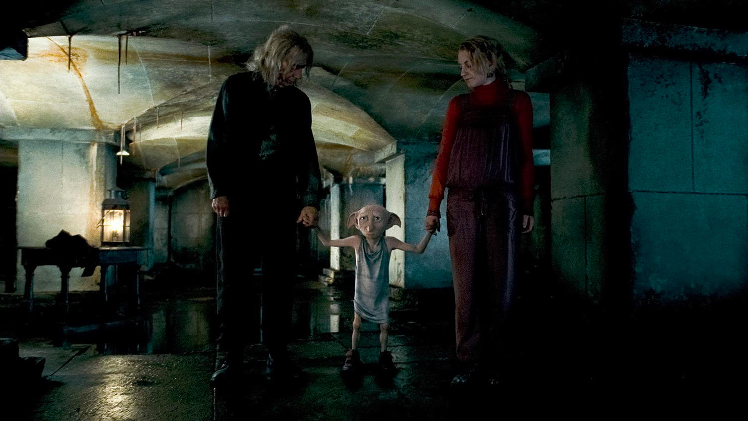Ollivander, Dobby and Luna