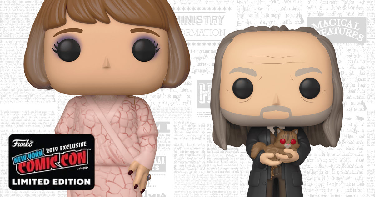 Funko to release Madame Maxime and Argus Filch Pop! Vinyl figures
