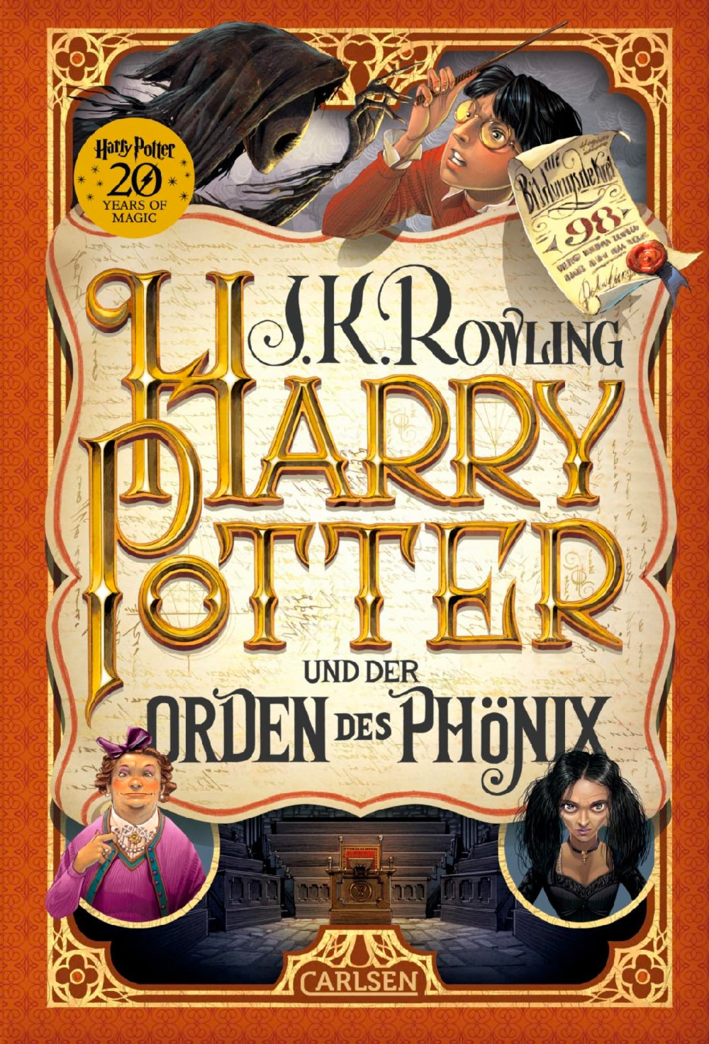 'Order of the Phoenix' German '20 Years of Magic' edition